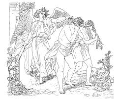Small Picture Adam and eve coloring pages expelled from eden ColoringStar