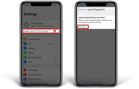 Apple Phone Number Getting The Update Apple Id Phone Number Message Heres A Fix
