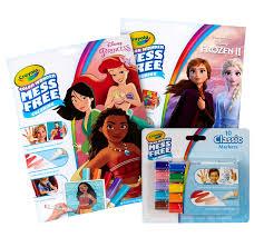 Crayola disney princess 80 mini coloring pages 6 mini markers new a12703. Color Wonder Princess Frozen 2 Coloring Set Crayola Com Crayola