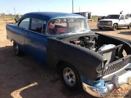 1955 CHEVY POST CAR TWO LANE BLACK TOP OR AMERICAN GRAFFITI GOOD ...