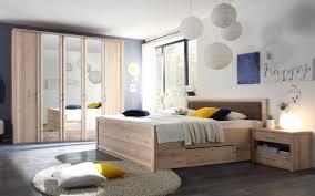 Schlafzimmer Classic Bett 180x200 Kleiderschrank 5 Türig Spiegel