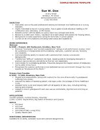 Resume Templates For Nurses Resume Templates Nursing Example Template 31