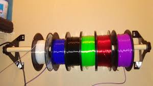 picture of expanded spool holder filament guide spool hub