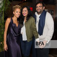 Carly Cushnie, Avantika Patel, Sachin Patel at CUSHNIE ET OCHS FW 16:  Afterparty at HOTEL HUGO /