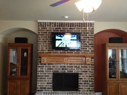 gallery of awesome tv above brick fireplace part mounting tv on brick with tv mounted on brick fireplace