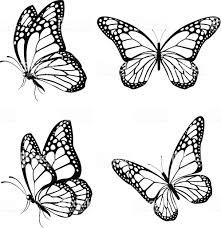 蝶のシルエットを春に絶縁 2015年のベクターアート素材や画像を多数ご