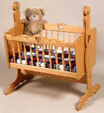 Doll Cradle Plans includes free PDF download. | crafts | Pinterest ...
