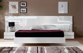 ceramic tile headboard. Contemporary Tile Bedroom Modern White Headboard And Floating Bed Design Solid Black Area  Rugs Over Dark Grey Ceramic Tiles Dresser With Mirror Drawers In  For Tile U
