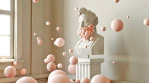 contemporary art furniture. Contemporary Art Art Issue 2018: The Best Contemporary Ideas Digital  With Pink Bubbles Furniture A