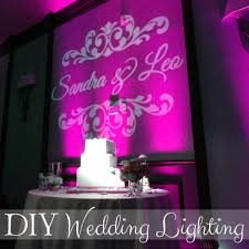 diy lighting wedding. Cake Table Backdrop. Do You Love Colorful Wedding Reception Lighting? Diy Lighting