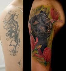 татуировка пантера тату студия битый небитого санкт петербург