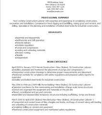 Download Laborer Resume