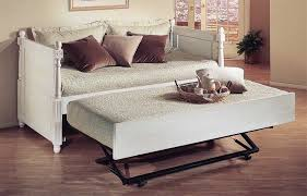 beautiful white daybed with pop up trundle with daybed with pop up trundle maposfera bedding