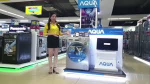 Review Máy giặt lồng ngang Aqua AQD-DD950 - YouTube