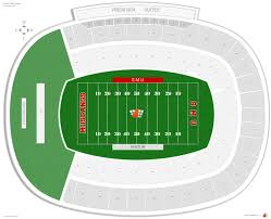 Gerald Ford Stadium Smu Seating Guide Rateyourseats Com