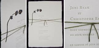 pressed flower wedding invitation on handmade paper tiny pine press Handmade Wedding Invitations With Flowers handmade wedding invitation with pressed lavender flower, letterpress Unique Butterfly Wedding Invitations