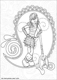 How To Train Your Dragon Coloring Pages Turn Photos Into Coloring