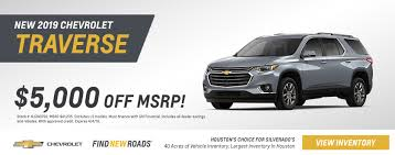 Current Chevy Traverse Deals & Offers at Lone Star Chevrolet