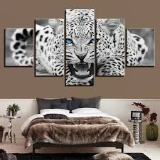 white picture modern canvas wall art