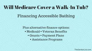 will medicare pay for a walk in tub