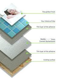 tile backer board bathroom cement tile backer board thickness