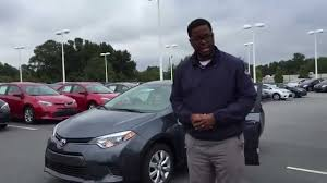 New 2015 Toyota Corolla LE presented by Christian Lewis - YouTube
