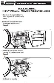 2006 chevrolet impala installation parts, harness, wires, kits Axxess ASWC 1 Wiring Diagram at Gm Aftermarket Male Stereo Wiring Diagram