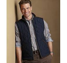 240 best Men's Fashion images on Pinterest | Colors, Guy style and ... & QUILTED VEST - Navy/Brown from Johnston & Murphy Adamdwight.com