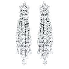 tiffany chandelier earrings diamond chandelier earrings of princess