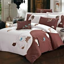brown and white duvet covers brown and white polka dot duvet cover chocolate brown and white
