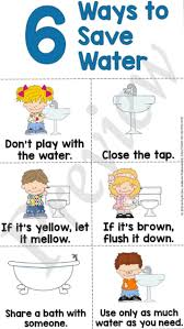 Teaching Kids To Save Water Save Water Essay Save Water
