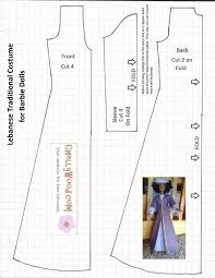 Barbie Doll Clothes Patterns Unique Free Sewing Pattern For Bible Characters' Doll Clothes To Use In