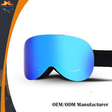 Anti Slide Straps Available Skiing Goggles With Multiple Lens Colors