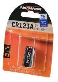 <b>Батарейка ANSMANN</b> CR123A — купить по выгодной цене на ...