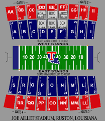 Louisiana Tech Bulldogs 2007 Football Schedule