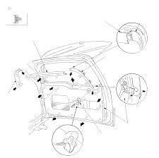 1997 infiniti qx4 wiring diagram and electrical system service and troubleshooting likewise nissan murano front door