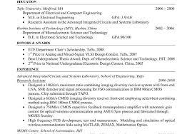 Sample Resume For Ojt Ece Sample Resume Format For Teachers
