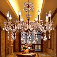 modern amber crystal chandeliers lighting hanging lights contemporary cristal glass chandelier light home hotel restaurant decor chandelier for bedroom