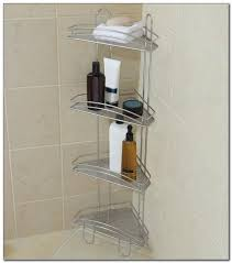 no rust tension pole shower caddy awesome things gallery
