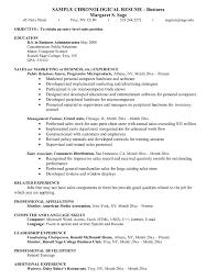 Resume Objective For Business Management Major Socalbrowncoats