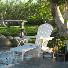 whitewash outdoor furniture. Adirondack Chair With Ottoman And Cup Holder In Whitewash Stained Fir Wood Whitewash Outdoor Furniture -