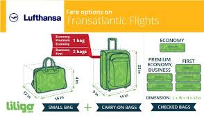 Luggage With Lufthansa Prices Weights And Dimensions