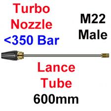 350 Bar Size 05 X M22 Male Turbo Nozzle Lance 6hl Tn350 05