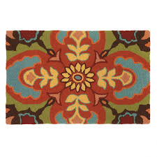 cmc chocolate brown and turquoise rugs talavera outdoor rug hand hooked 100 polypropylene area gray wool yellow fuzzy x red white blue teal color black for