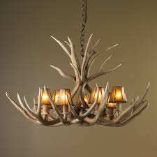 new deer antler chandelier