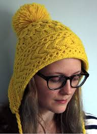 Knit Hat Patterns Mesmerizing Earflap Hat Knitting Patterns In The Loop Knitting