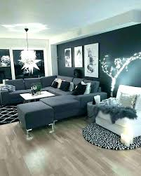 interior gray and white living room ideas decor for black marvelous grey new 12