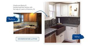 help planning a kitchen remodel. charlie and becky r. transformed their kitchen with the help of lowe\u0027s kokomo, planning a remodel i