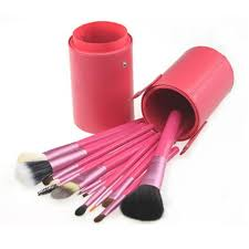 get ations affordable makeup brush sets fuchsia wood handle makeup brush kits goat hair makeup