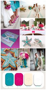 starfish wedding invitation pink and blue beach wedding pink table setting aisle ideas